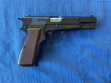 Browning Hi Power Assembled in Portugal 9MM