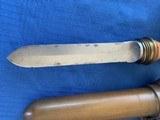 U . S . NAVY WW2 Divers Knife with BRASS Scabbard - 7 of 12