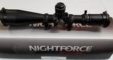 Nightforce BEAST 5-25x56 F1 MOAR w/ NF high rings - 2 of 3