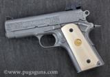 Colt 1911 Officers Model Engraved - 2 of 2