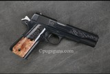 Colt 1911 Factory Hand Engraved