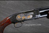 Winchester Model 12 Angelo Bee Engraved