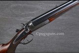 Manton Double Rifle Hammer Gun