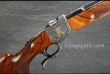 Ruger #1 Angelo Bee Engraved