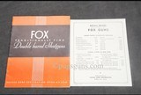 Fox Catalog - 1 of 3