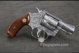 Smith & Wesson 60 Engraved