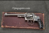 Smith & Wesson 32 Hand Ejector 3rd Model with box and factory letter - 2 of 9