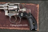 Smith & Wesson 32 Hand Ejector 3rd Model with box and factory letter - 4 of 9