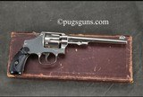 Smith & Wesson 32 Hand Ejector 3rd Model with box and factory letter - 1 of 9