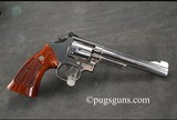 Smith & Wesson 19-6 Nickel - 1 of 5