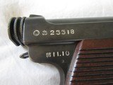 1935 rarer Type 14 Small trigger guard, 5,648 made that year,minty ,blued front to back - 2 of 15