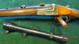Sodia Ferlach Single Shot Anson & Deeley Boxlock Action in 8x57 JRS - 3 of 6