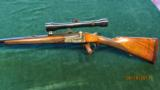 Sodia Ferlach Single Shot Anson & Deeley Boxlock Action in 8x57 JRS - 1 of 6