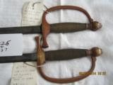 AMES MFG.CO.andC.ROBYA PAIR of SWORDS - 1 of 14