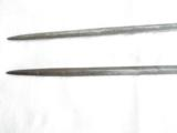 SPANISH(?) CUP HILT RAPIERS