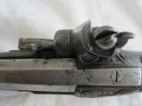 FRENCH (?) FLINTLOCK PISTOL circa 1840's - 4 of 10