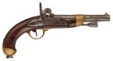 FRENCH MARSHALL MODEL 1822 PERCUSSION PISTOL - 1 of 1