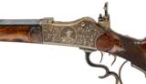 Villforth Martini Engraved Schuetzen Rifle