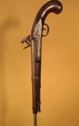 SIMON NORTH MODEL 1819 FLINTLOCK PISTOL