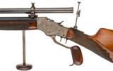 Stevens Model 54-44 1/2 Schuetzen Rifle - 2 of 3
