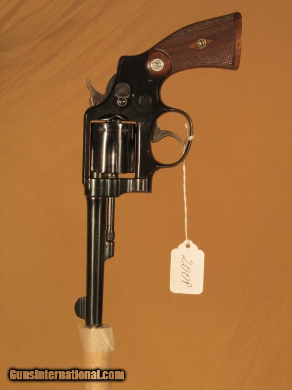 S&W 38 MILITARY & POLICE MODEL 1905 4TH CHANGE