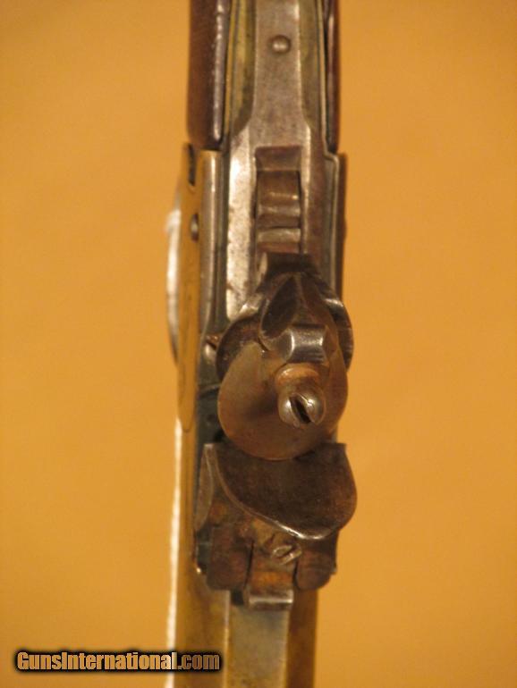 ENGRAVED FLINTLOCK 58 CAL. PISTOL - 3 of 5