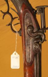 EARLY MEUNIER PERCUSSION RIFLE - 4 of 5