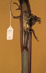 BEAUTIFUL FRENCH FLINTLOCK FOWLING DBL. SHOTGUN - 4 of 5