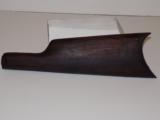 Early Stevens sideplate model buttstock & buttplate - 1 of 1