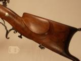 JEAN SIBER PERCUSSION SWISS SCHUETZEN RIFLE - 3 of 7