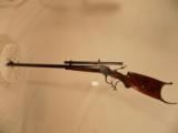H.M. POPE HI WALL SCHUETZEN RIFLE