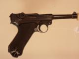 GERMAN MAUSER BLACK WIDOW LUGER