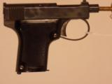 WEBLEY & SCOTT MODEL 1912 SEMI AUTOMATIC PISTOL