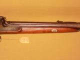 F. SMITH DBL. PERCUSSION RIFLE SHOTGUN COMBINATION - 8 of 8