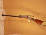 WIN. HI WALL H.M. POPE SCHUETZEN MUZZLE LOADING RIFLE