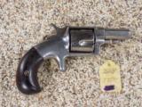 Hopkins & Allen XL #4 Spur Trigger Revolver