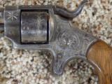 Forehand & Wadsworth Engraved Revolver - 2 of 6