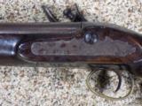 English Flintlock Officers Pistol - 2 of 9