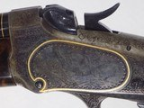 Win. Model 1885 Lo Wall Deluxe Rifle - 3 of 13