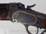 Win. Model 1885 Lo Wall Deluxe Rifle - 2 of 13