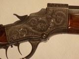 Stevens Model 51-44 Engraved Rifle - 7 of 10