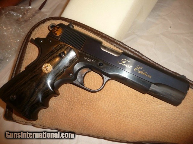 Colt Delta Elite 10mm Blue FIRST EDITION Early w/ display BOX for sale