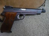 """SIG P210 - 5 Target 9mm Pistol 6"""" early production Exc"""