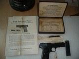 MINT 99.9% COLT 1908 380 Hammerless Pistol Mfg 1922 Estate