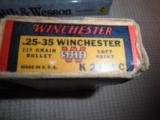 WINCHESTER SUPER SPEED .25-35 CARTRIDGES - 2 of 4