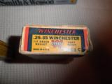 WINCHESTER SUPER SPEED .25-35 CARTRIDGES - 3 of 4