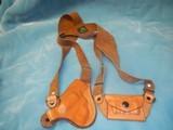 Leather Shoulder Holsters