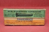 Wintage 40-60 Win 210 gr ammo