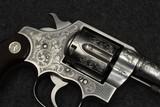 Colt New Service 45 Colt custom engraved - 7 of 15