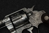 Colt New Service 45 Colt custom engraved - 3 of 15